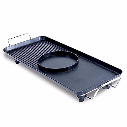 PEIWENIN-Hogar para no fumadores horno eléctrico de barbacoa olla antiadherente horno eléctrico máquina de