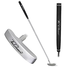The Classic Putter by GoSports was designed to provide a quality putter at an economical price. The putter head uses a timeless design that goes back to the start of the game while incorporating modern technology. The putter head is solid cas...