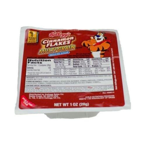 KELLOGG'S Reduced Sugar Multigrain Cinnamon Cereal Flake,...