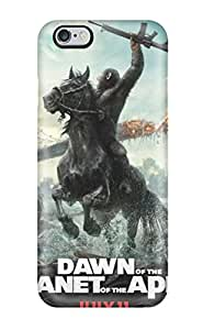 Cute Tpu ZippyDoritEduard Dawn Of The Planet Of The Apes Case Cover For Iphone 6 Plus(3D PC Soft Case)