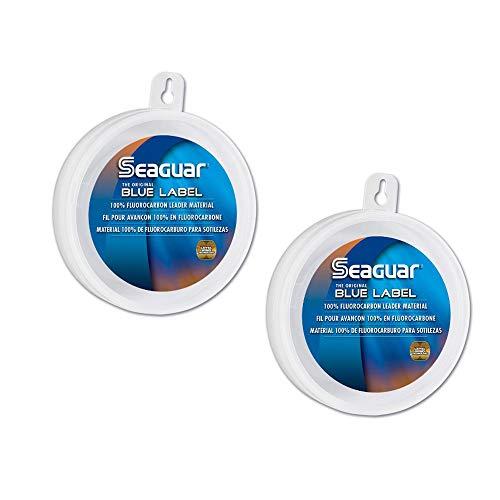 Seaguar Blue Label 50-Yards Fluorocarbon Leader (15-Pounds) 2 Pack