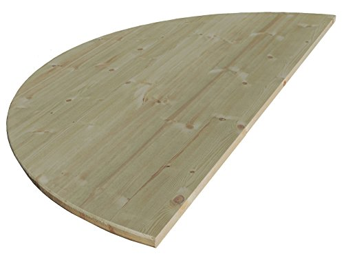 Allwood 1'' x 54'' Half Round Table Top by Allwood Industrials
