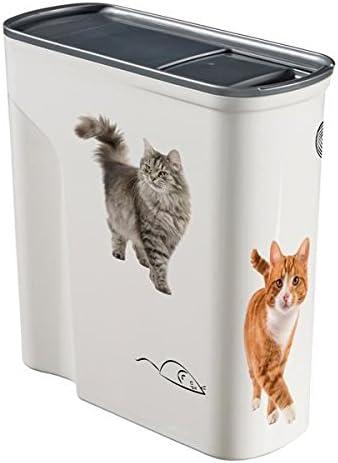 Amazon Com Curver Pet Dry Food Container Cat 6 Litre Pet Supplies