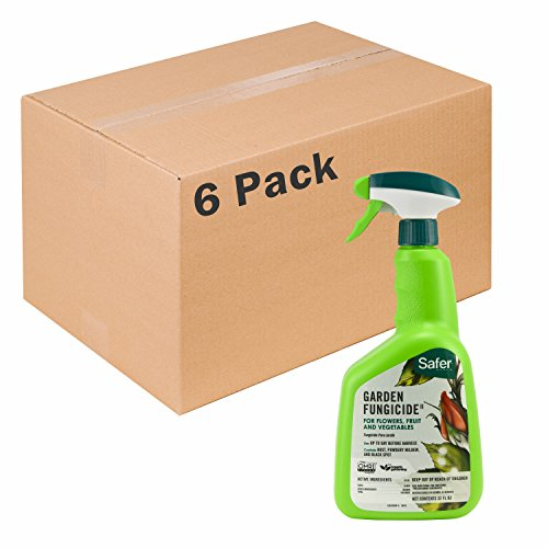Garden Fungicide 32oz RTU by Safer Brand - 6 pack 5450-6