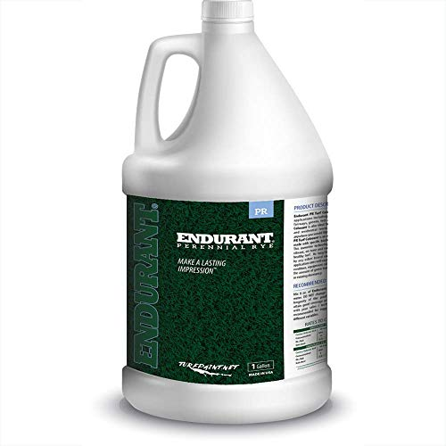 Concentrated Turf and Grass Colorant - 1 Gallon Jug Revitalizes Approximately 10,000 Sq. Ft of Dormant, Drought-Stricken or Patchy Lawn (Perennial Rye)