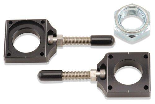 Bolt Motorcycle Hardware (CHAD-KX.BK) Black Chain Adjuster Block