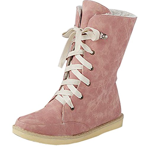 06aef5bd1 well-wreapped Women Hidden Heel Boots Round Closed Toe Tassel Shoes ...