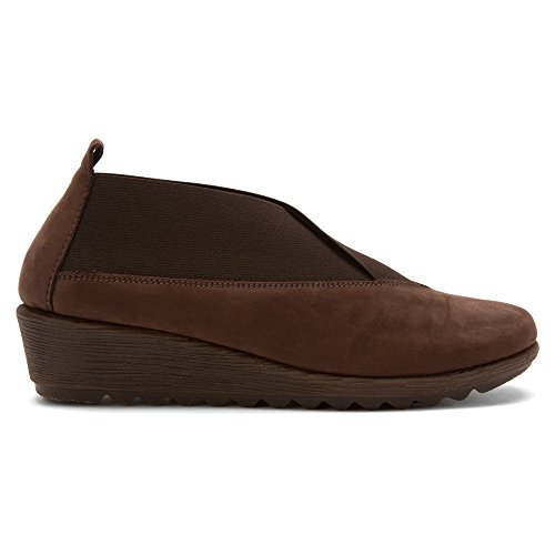 The Women's Run Flexx Antigua Stretch Moccasin Ebony r45rqw