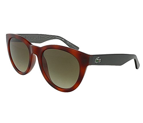 Lacoste L788S 214 Havana Oval Sunglasses (214 Sunglasses)