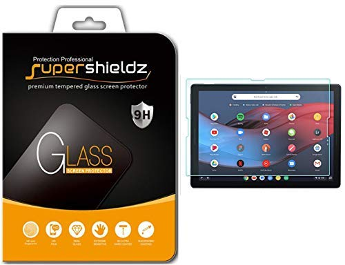 Supershieldz for Google Pixel Slate Tempered Glass Screen Protector, Anti Scratch, Bubble Free