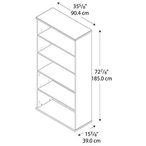 042976244149 - Series C:Open Double Bookcase carousel main 3