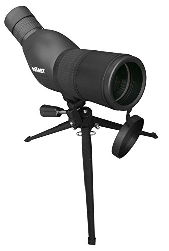 41RFcnRfsUL - Roxant Authentic Blackbird High Definition Spotting Scope With ZOOM - Fully Multi Coated Optical Glass Lens + BAK4 Prism. Includes Tripod + Case + Lifetime Support