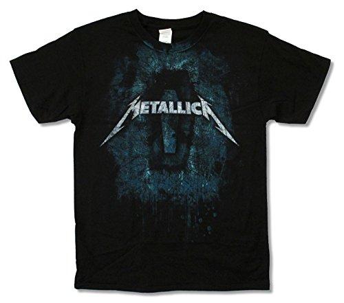Alstyle Apparel Metallica Moonlight Dirt Nap Black Tee Shirt (Medium)