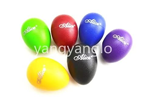 Colourful Sound Eggs Shaker Percussion - Bass Drum Hoop Mount Cowbell