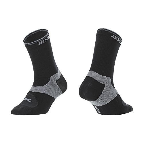 2XU Mens Cycle Vector Socks