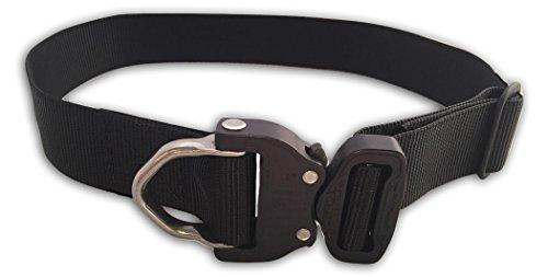 - Klik Belts Tactical Nylon Dog Collar w/Cobra Quick Release Buckle-Heavy Duty XL
