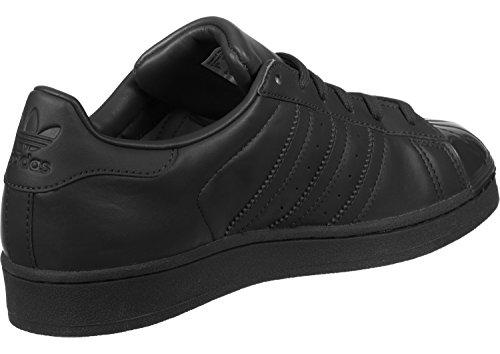 Adidas Superstar Vrouwen Glossy Teen Basketbal Schoenen Zwart