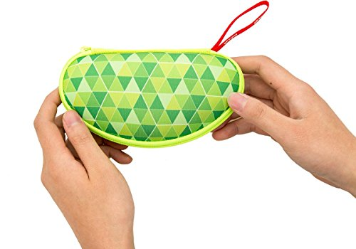 ZIPIT Colorz Box Glasses Case, Green Photo #3