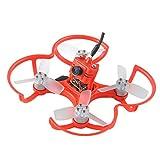 Crazepony EMAX BabyHawk PNP 85mm Mirco FPV Racer Drone Brushless (1104 5000kv Brushless Motor,Femto F3 Flight Controller,All-in-One Camera ,VTX 25MW CMOS, Bullet 6A BLHeli_S Plug-In ESC) Red