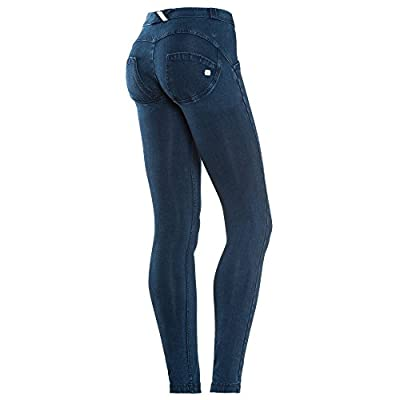 Freddy WR.up Mid Rise Denim Skinny Jeans for Women, Butt Lifting, Signature Shaping Pants, Sexy Push up Pants