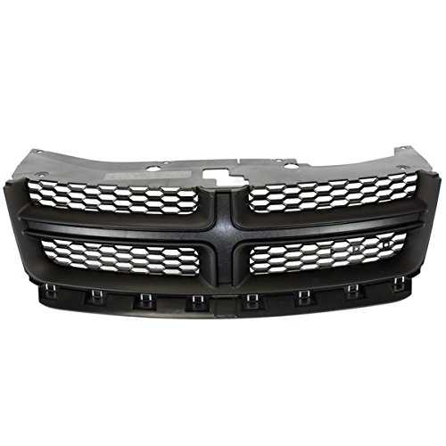 - Koolzap For 11-14 Avenger Front Grill Grille Assembly Black Shell w/Gray Insert 68102307AC