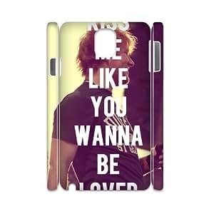 Ed Sheeran DIY 3D Cover Case for Samsung Galaxy Note3 N9000,Ed Sheeran custom 3d cover case