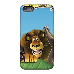 VIVIENRowland Iphone 6 Protective Hard Phone Covers Support Personal Customs Realistic Madagascar 3 Series [ZzX2879qyVa]