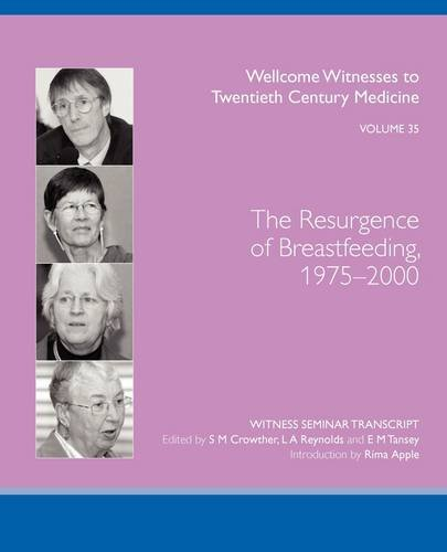 THE RESURGENCE OF BREASTFEEDING, 1975-2000 S M CROWTHER
