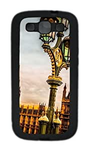 Westminster Palace London Custom Design TPU Samsung Galaxy S3 Case and Cover - Black