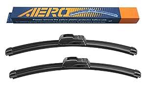 "OEM QUALITY 24"" + 18"" AERO Premium All-Season Windshield Wiper Blades (Set of 2)"
