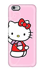 Anti-scratch And Shatterproof Hello Kitty Pink Phone Case For Iphone 6 Plus/ High Quality Tpu Case