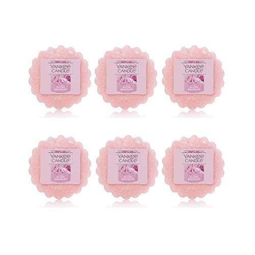 Yankee Candle Lot of 6 Blush Bouquet Tarts Wax Melts