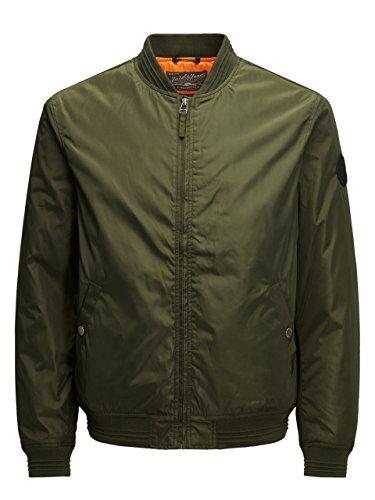 Pre Jacket Spring JACK para Jorlucky Verde Chaqueta JONES Hombre Bomber amp; 4qXIp