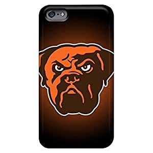 Eco-friendly Packaging phone carrying cases Fashionable Design covers iphone 4 /4s - cleveland browns 1