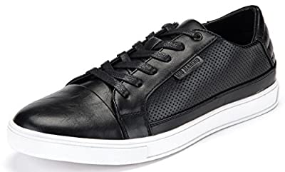 Mio Marino Mens Performance Fashion Sneakers - Dress and Casual