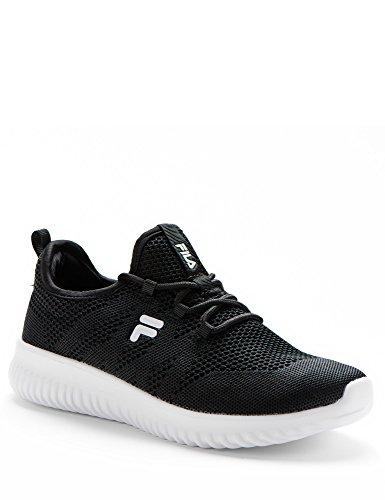 FILA Women Rose Footwear Black White