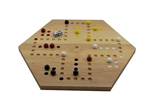 Used, Solid Maple Double Sided Aggravation Marbles Board for sale  Delivered anywhere in USA