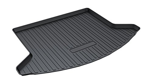 2019 Trunk - Vesul Rear Trunk Cargo Cover Boot Liner Tray Carpet Floor Mat Compatible with Mazda CX-5 CX5 2017 2018 2019