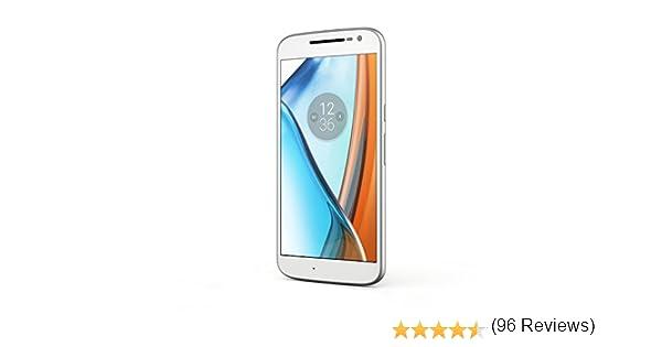 Lenovo Moto G4 SIM Doble 4G 16GB Color Blanco: Amazon.es: Electrónica