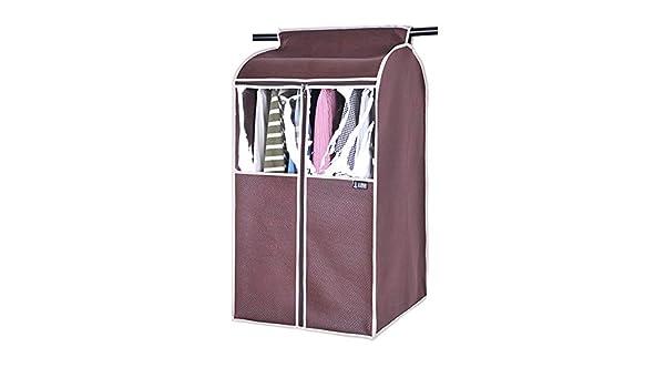 Dust cover Ropa Cubierta de Polvo/Ropa Tridimensional para el hogar Bolsa de Polvo/Cubierta de Abrigo/Bolsa de Almacenamiento Colgante Completamente Cerrada/Bolsillo Colgante(B:52 * 52 * 120cm;): Amazon.es: Hogar