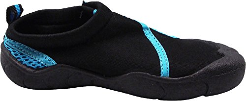 3e901eb0b NORTY - Little Girl's Skeletoe Mesh Waterproof Athletic Aqua Socks for Pool  Beach, Black,