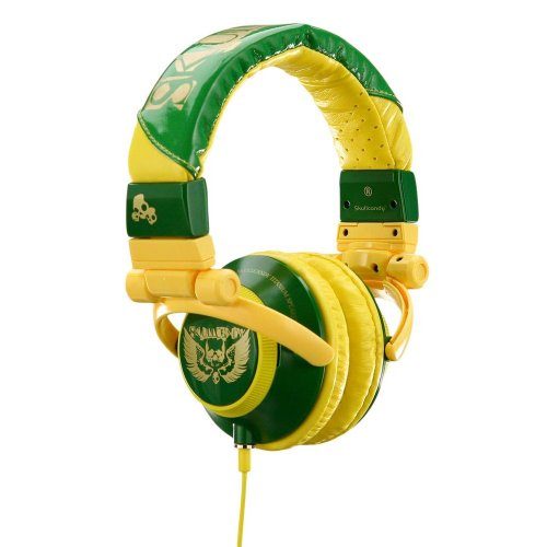 Skull Candy Stereo Headphones Yellow product image