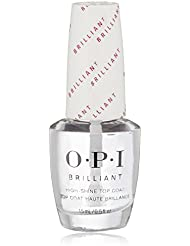OPI Nail Lacquer Top Coat, Brilliant, 0.5 fl. oz.