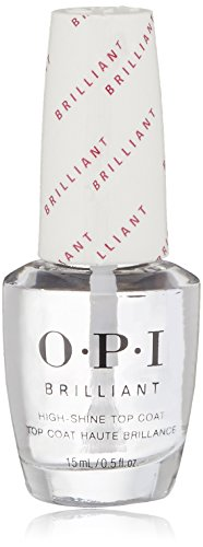 OPI Nail Lacquer Top Coat, Brilliant, 0.5 Fl Oz