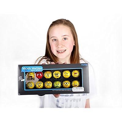 MegaFun USA Moody Marble Emoji Gift Set - Series 1: Toys & Games