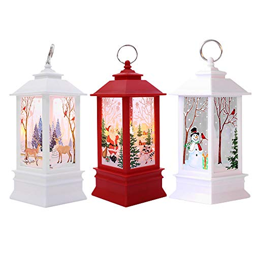 (Mome ʕ •ᴥ•ʔ Beautiful Christmas LED Light ʕ •ᴥ•ʔ1Set Christmas Candle with LED Tea Light Candles for Christmas Decoration Party Wedding DIY Decorations (Multicolor))