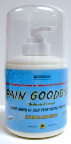 Pain Goodbye Medicated Cream by Meditalent (Cool Type) ()
