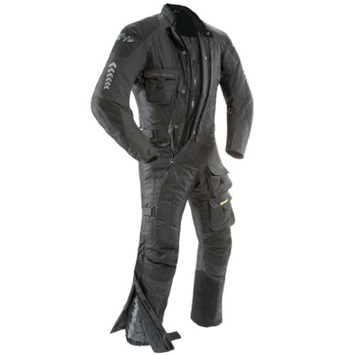 Joe Rocket 1370-4013 Survivor Men's Textile Touring Suit (Black, Short Medium)