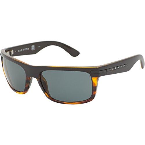 Kaenon Men's Burnet Polarized Rectangular Sunglasses, Special Sauce, 38 - Sunglasses Prescription Kaenon