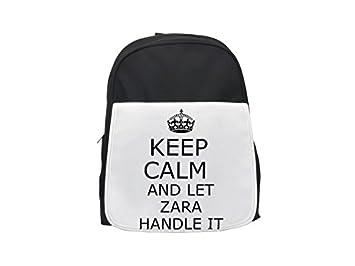 Handit ZARA Keep Calm - Mochila infantil estampada, mochilas lindas, mochilas pequeñas, mochila